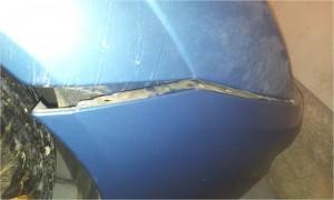 Demontaż zderzaka przedniego Ford Focus MK1