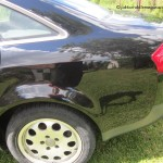 Audi A6 lakierowanie - korozja drzwi