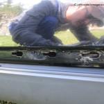 Audi A6 lakierowanie - korozja drzwi_4
