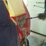 Ford Fiesta MK6 cz.2 – klepanie i szpachlowanie_5