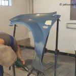 Ford Fiesta MK6 cz.5 – Przygotowanie do lakierowania uzywanego blotnika_14
