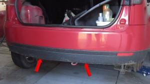 Demontaz zderzaka tylnego Fiesta MK 6_6
