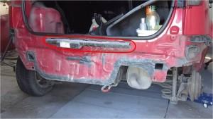 Demontaz zderzaka tylnego Fiesta MK 6_9