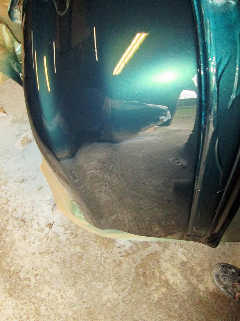 Honda Civic blacharaka - lakierowanie.