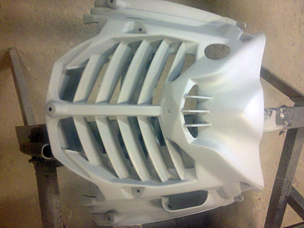 Lakierowanie Yamaha Aerox.