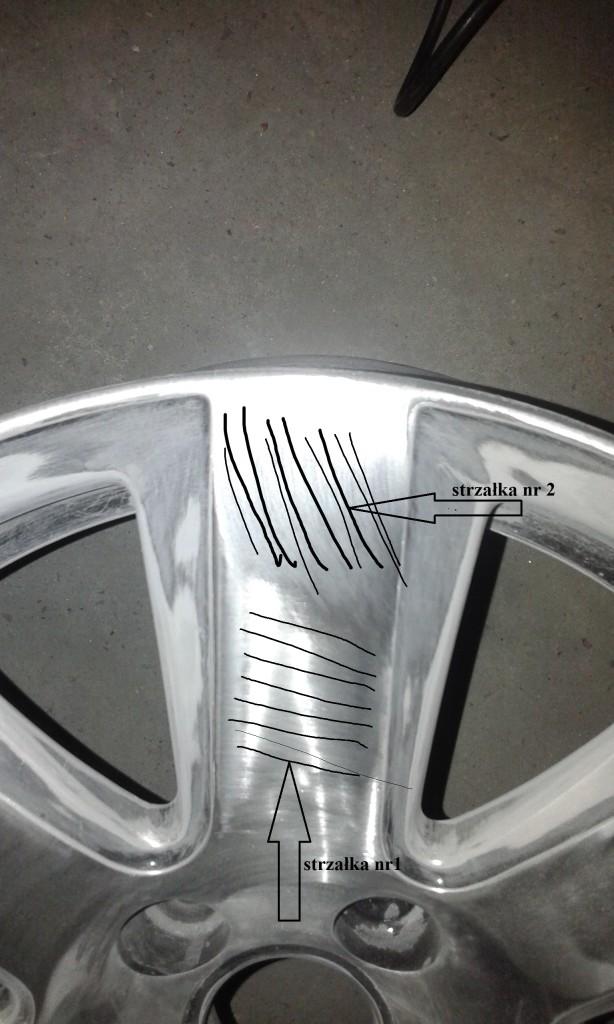 Polerowanie felg aluminiowych na lustro.