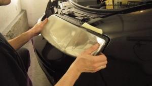 Demontaż reflektora Audi A6 C5