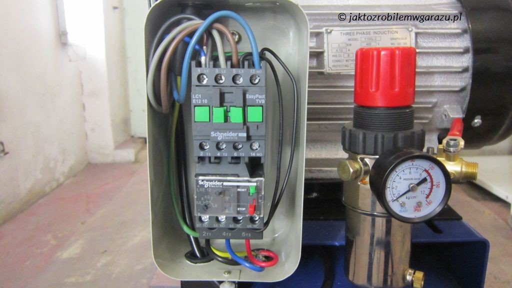 Podłączenie kompresora 3 faz