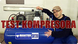 Test i opinia kompresora MAKTEK SKY200