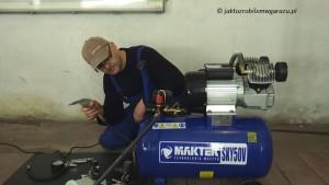 Maktek SKY50V TEST przedmuchiwania