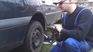 Maktek SKY50V TEST Odkręcania srób kluczem pneumatycznym