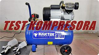 Kompresor Maktek SKY50V – TEST