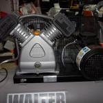 Test kompresora Walter GK 420-2.2/100A 100l