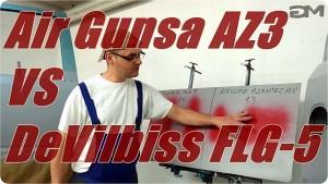 Air Gunsa Az3 vs DeVilbiss FLG 5 Opinia