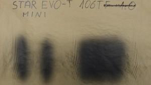 STAR MINI EVO-T 106TF szerokość strumienia