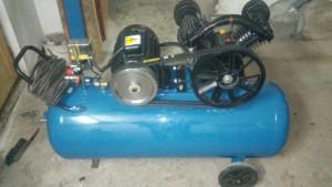 Budowa kompresora KD1404 test