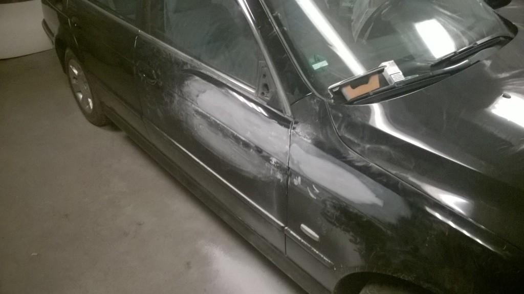 BMW E39 2.0 Lakierowanie