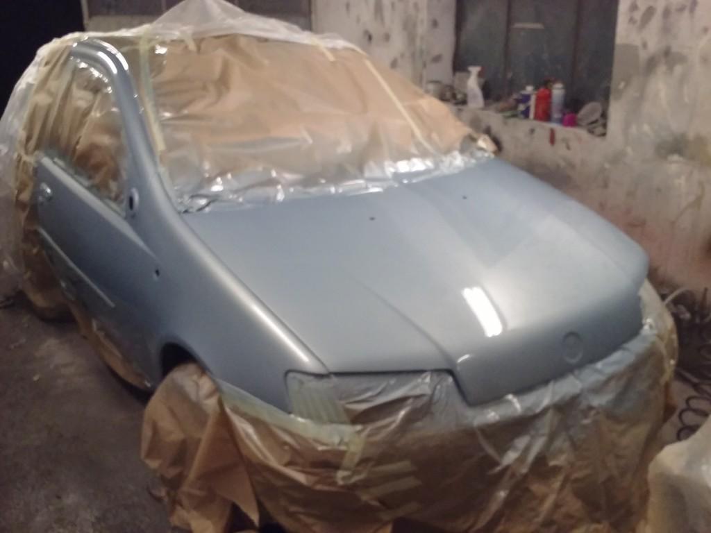 Fiat Punto II, Lakierowanie samochodu, Lakier perłowy