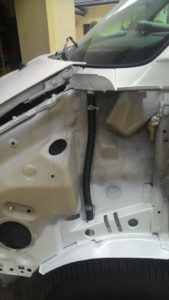 odplyw-10 - VW T4 - modyfikacja odpływu podszybia
