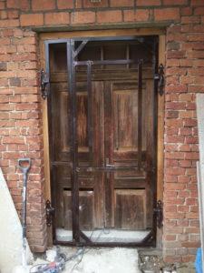 stalowe drzwi zewnętrze