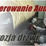 Lakierowanie Audi A6 - korozja drzwi