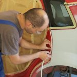 Ford Fiesta MK6 cz.6 – Podkładowanie i przygotowanie do lakierowania