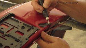 Jak naprawić pekniety zderzak - spawanie plastiku