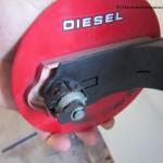 Demontaż wlewu paliwa Fiesta MK6