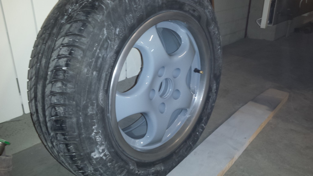 Polerowane felgi VW passat B5