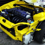 Lakierowanie komory silnika HONDA CIVIC