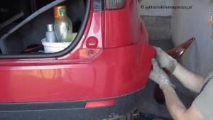 Demontaz zderzaka tylnego Fiesta MK 6_3