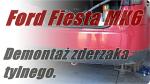 Demontaż zderzaka tylnego Ford Fiesta Mk6