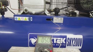 Maktek SKY200V_Temperatura powietrza tłoczonego