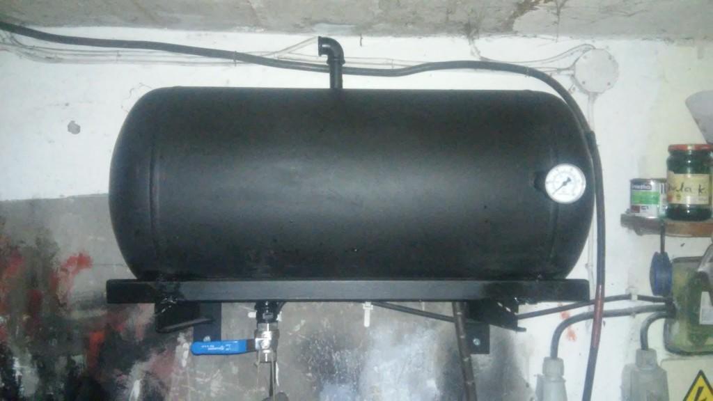 Instalacja sprężonego powietrza + bufor