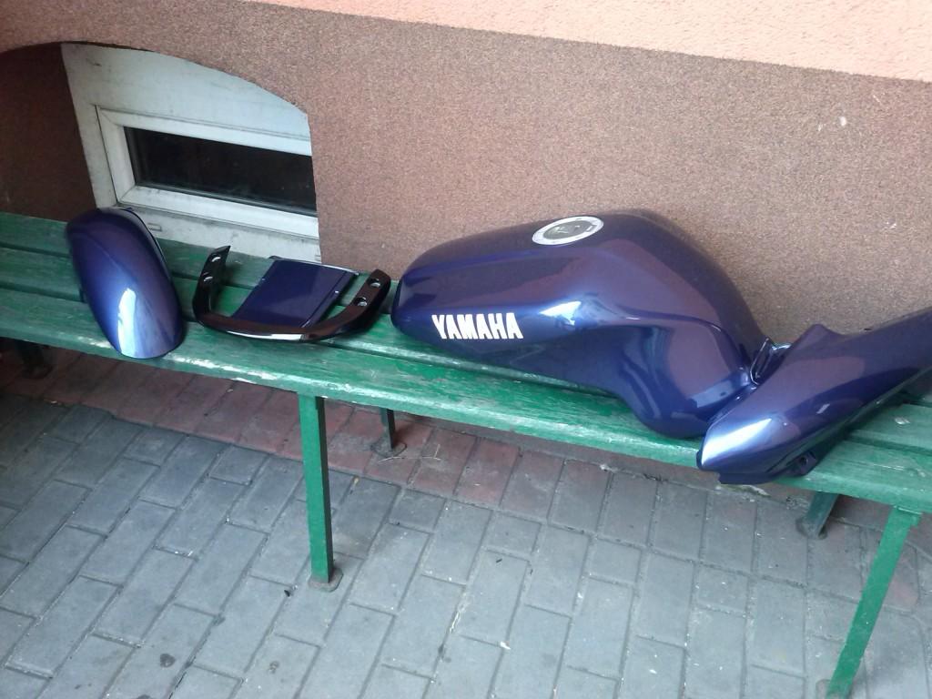 Lakierowanie motoru Yamaha