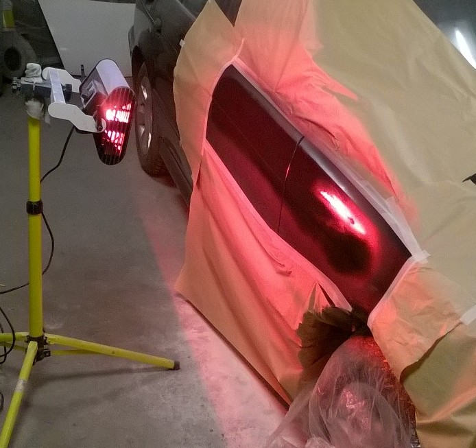 BMW E39 2.0 promiennik IR