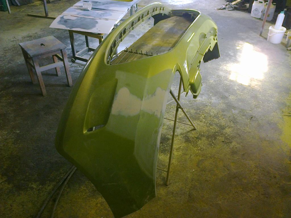 Lakierowanie i naprawa zderzaka Ford Fiesta