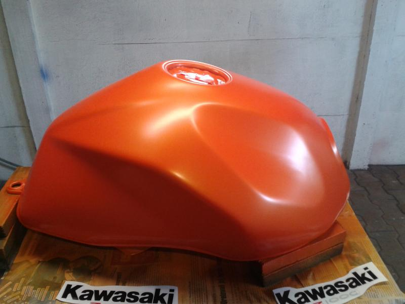lakierowanie motoru, lakierowanie Kawasaki Z1000