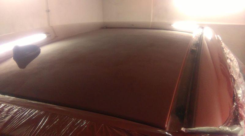 Lakierowanie dachu Peugeot 207