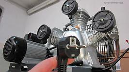 Kompresor 3 tłoki na 230V