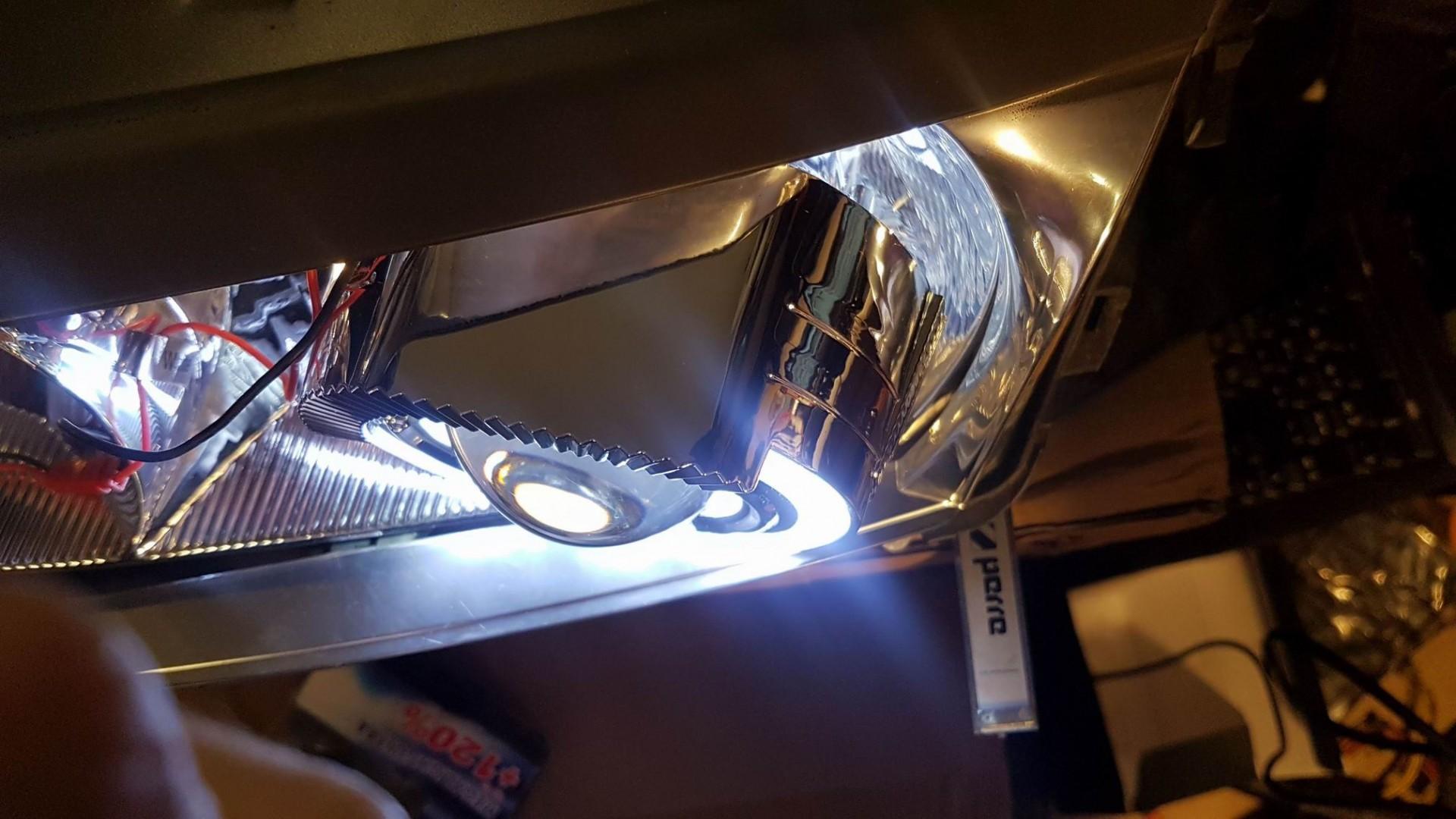 Przeróbka świateł mijania na Bi-Xenon