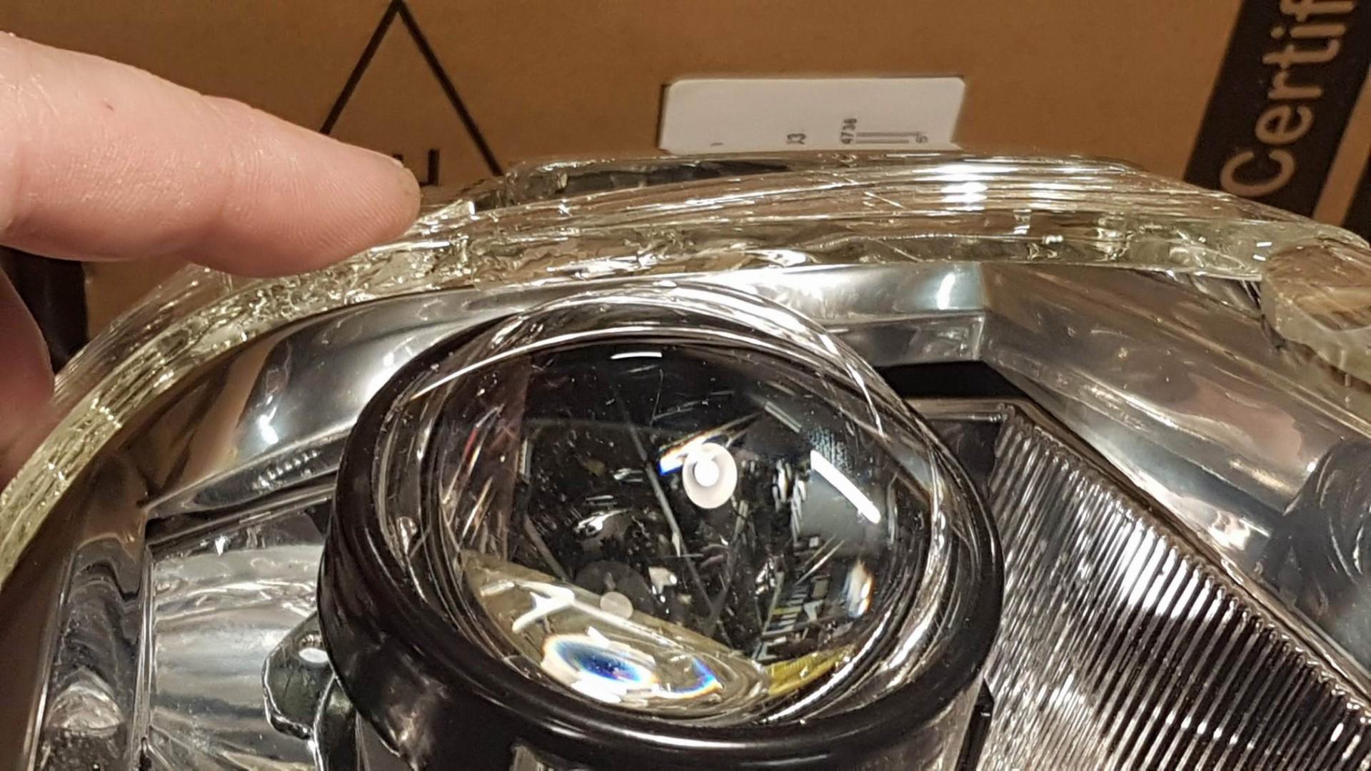 Przeróbka lamp na soczewki