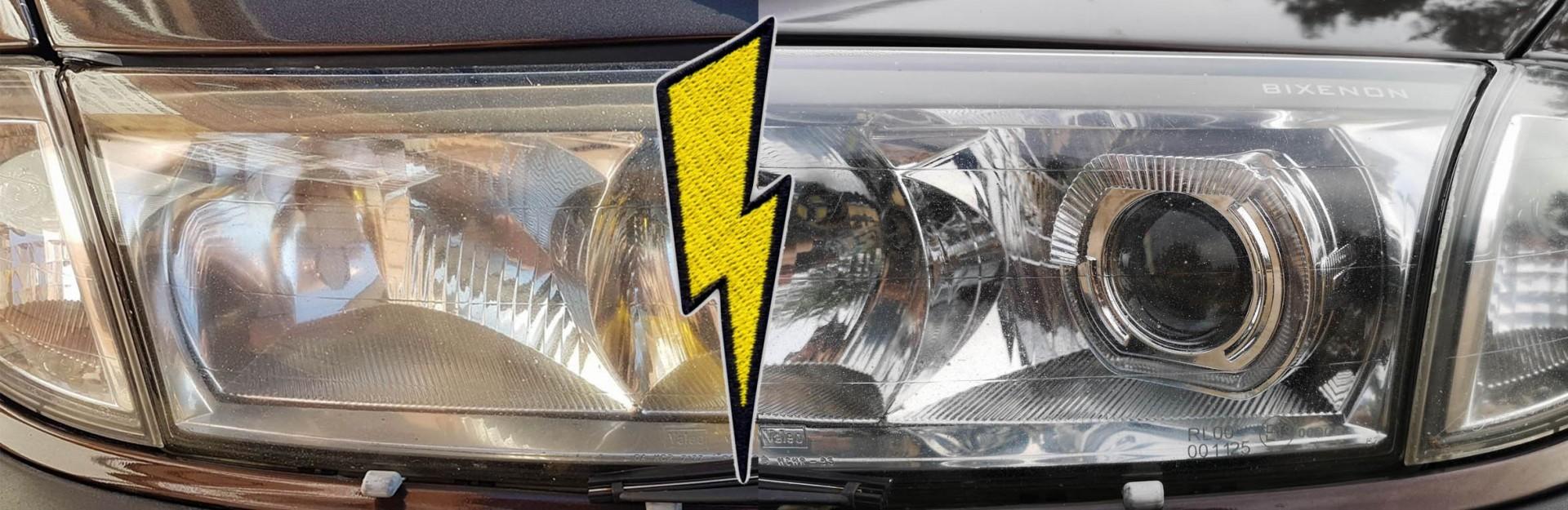 Przeróbka świateł na xenon - soczewki